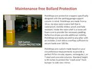 Maintenance free Bollard Protection