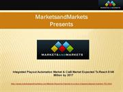 Integrated Playout Automation Market & CiaB Market 2017