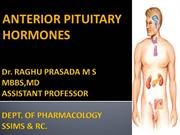 ANTERIOR PITUITARY HORMONES 15TH MARCH 2014 _2