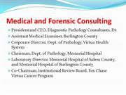Medical and Forensic Consulting