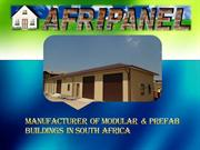 Manufacturer of modular & Prefab Buildings in South Africa