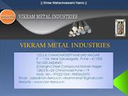 VIKRAM METAL INDUSTRIES PPT 01