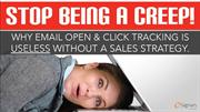 Why Email Tracking Is Useless Without A Sales Strategy.