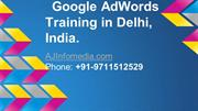 Google AdWords Training Delhi, India