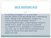 self defense dvd