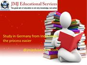 Study in Germany from India-Make the process easier