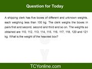Question of the Day - 8 (IX - X)
