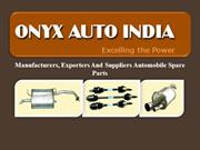 Automobile Spare Parts Manufacturer and Supplier