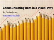Communicating Data in a Visual Way