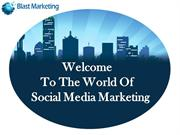 Social Media Marketing in today's point of view