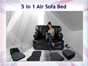 Air Sofa Bed | 5 In 1 Air Sofa Bed