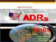 Presentation ON ADR GDA BY VIDYA