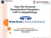Tata The Promont by Tata Housing – Call 09555666555
