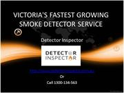 Smoke Alarm Maintenance & Services For Life Safety