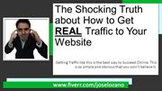The shocking truth about how to get traffic to your website
