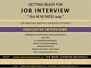 30-INTERVIEW-INDICATIVE-INTERVIEWS