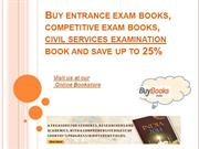 Competitive Entrance Exam Books Online