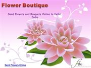 Send flowers online - flower boutique
