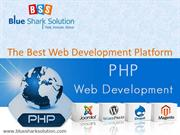 PHP Web Development The Best Web Development Platform
