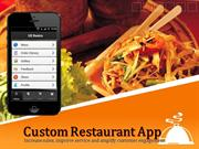 Mobile app for Restaurant