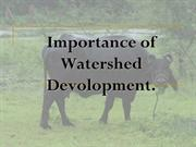 The Importance of Watershed Projects in India