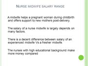 How Much Can A Midwife Earn?