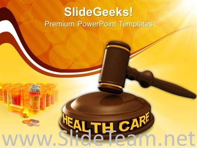 HEALTH CARE LAW POWERPOINT BACKGROUND-PowerPoint Template
