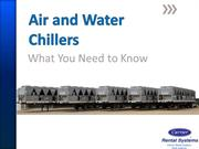 Air and Water Chillers: What You Need to Know