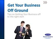 Get your Business off the Ground with the Right Tools
