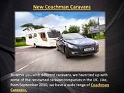New Coachman Caravans in UK