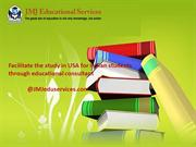 The study in USA for Indian students through educational consultant