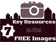 7 Key Resources for Free Images
