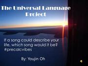 The Universal language project