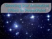 Shooting Star animation effect in PowerPoint
