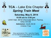 TCA – Lake Erie Chapter 5-8-14