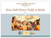 How To Make Salt Water Taffy