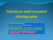 FibroScan and transient elastography