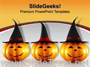 HALLOWEEN FESTIVAL EVENTS POWERPOINT BACKGROUND
