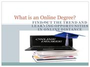 Online Degree Improve chance for earning more