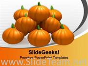 HALLOWEEN PUMPKINS NATURE POWERPOINT BACKGROUND