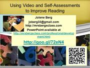 Using Video and Self-Assessments to Improve Reading