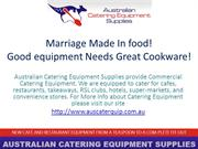Marriage Made In food! Good equipment Needs Great Cookware!