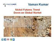 Nickel Futures Trend Down on Global Market