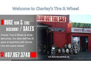 Welcome to Charley's Tire & Wheel