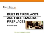 Built In Fireplaces and Free Standing Fireplaces