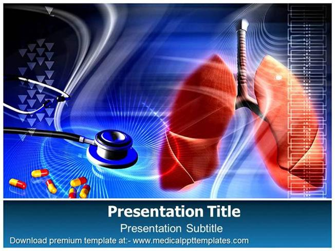 Lung disease powerpoint template authorstream lungs powerpoint template medicalppttemplates toneelgroepblik Choice Image