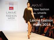 New fashion unveils at: Lakme Fashion Week 2014