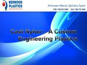 Cast Nylon - A Custom Engineering Plastics