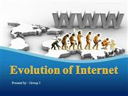 Evolution of Internet ppt