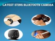 Latest Bluetooth Sting Camera